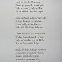 Goethe poem Allleben
